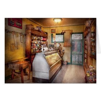 Americana - Store - At the local grocers Greeting Card