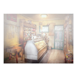 Americana - Store - At the local grocers Invitations
