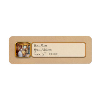 Americana - Store - At the local grocers Custom Return Address Labels
