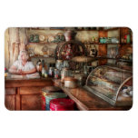 Americana - Store - Looking after the shop Rectangular Magnets