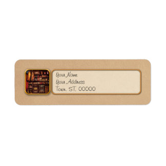 Americana - Store - The local grocers Return Address Label