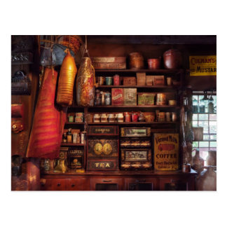 Americana - Store - The local grocers Postcard