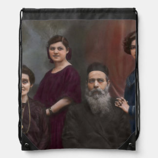 Americana - That old world charm Drawstring Backpack