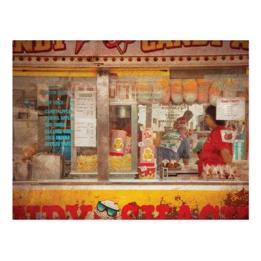 Americana - The Candy Shack Postcard