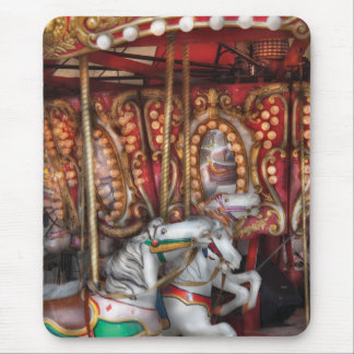 Americana - The Carousel Mouse Pads