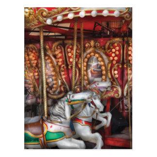 Americana - The Carousel Postcard