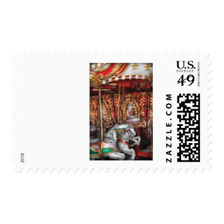 Americana - The Carousel Stamp