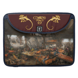 Americana - The creation of Liberty - 1882 Sleeves For MacBooks