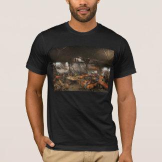 Americana - The creation of Liberty - 1882 T-Shirt