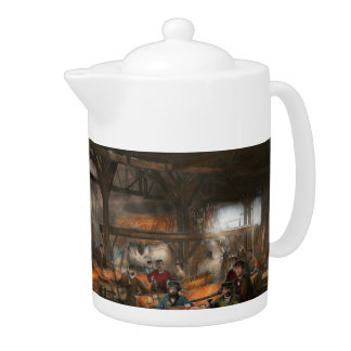 Americana - The creation of Liberty - 1882 Teapot
