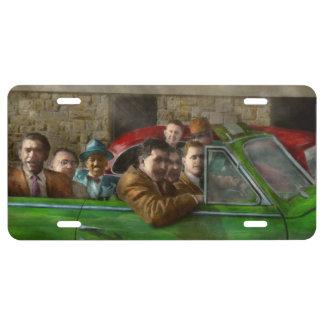 Americana - The good ol boys License Plate