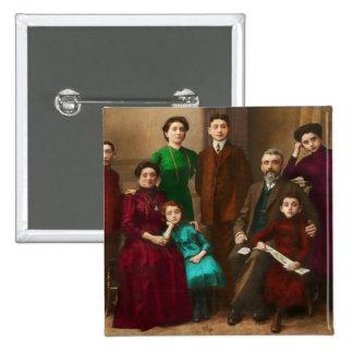 Americana - The Savatsky family Pinback Buttons