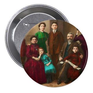 Americana - The Savatsky family Pinback Button