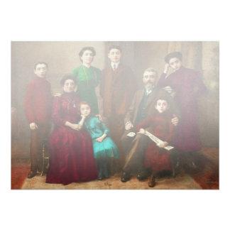 Americana - The Savatsky family Card