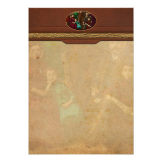 Americana - The Savatsky family Personalized Invitations