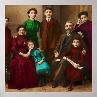 Americana - The Savatsky family Posters