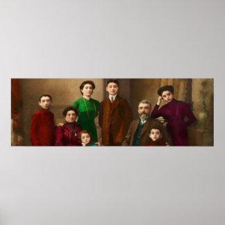 Americana - The Savatsky family Poster