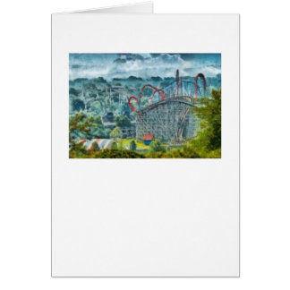 Americana - The thrill ride Greeting Card