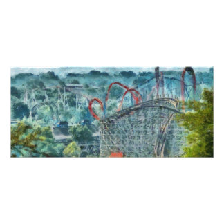 Americana - The thrill ride Personalized Rack Card