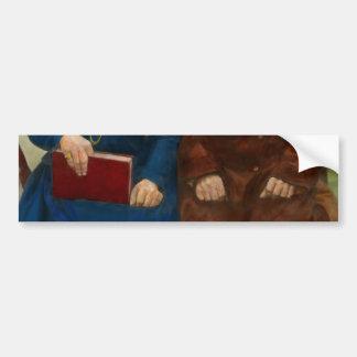 Americana - The yearly family portrait Bumper Sticker