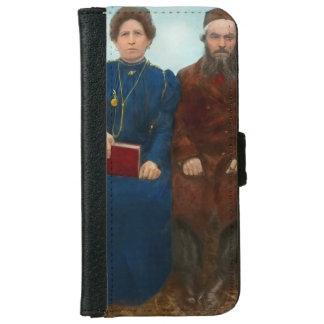 Americana - The yearly family portrait iPhone 6 Wallet Case