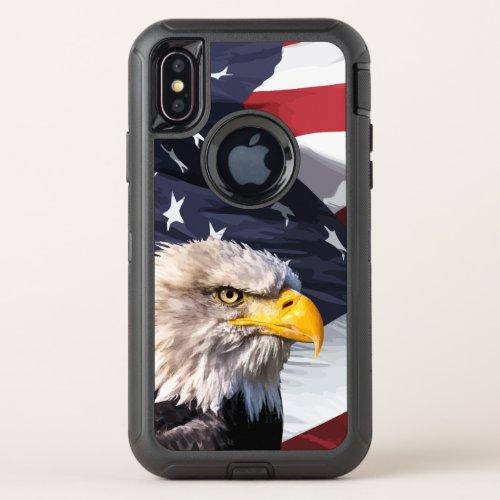 Americana Theme American Eagle Phone Case