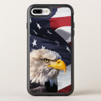 Americana Theme American Eagle OtterBox Symmetry iPhone 8 Plus/7 Plus Case