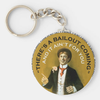 Americana There's A Bailout Coming Neil Young Basic Round Button Keychain