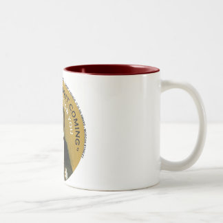 Americana There's A Bailout Coming Neil Young Two-Tone Coffee Mug