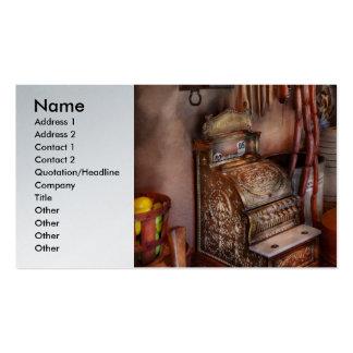 Americana - tienda - la tienda de delicatessen tarjetas de visita