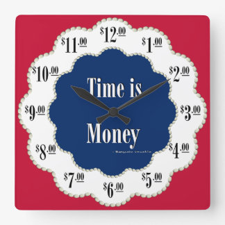 Americana Time is Money Clock