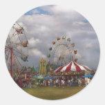 Americana - Traveling Carnival Sticker