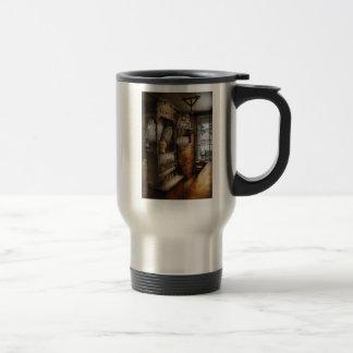 Americana - Turn of the century soda fountain 15 Oz Stainless Steel Travel Mug