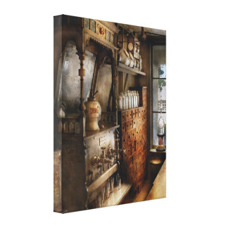 Americana - Turn of the century soda fountain Gallery Wrapped Canvas