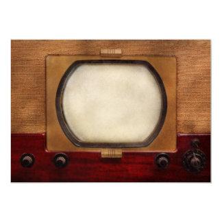 """Americana - TV - el nuevo incher 10 Invitación 5"""" X 7"""""""