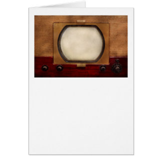 Americana - TV - el nuevo incher 10 Tarjeta De Felicitación