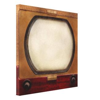Americana - TV - The 10 incher Canvas Print