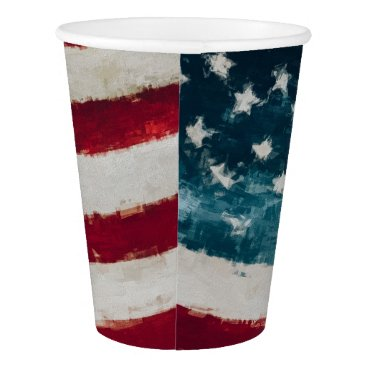 USA Themed Americana Vintage Party Cup