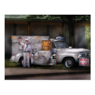 Americana -  We sell Ice Cream Postcard