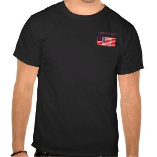 AMERICANADIAN black tee shirt