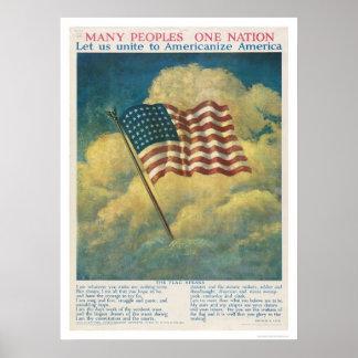 Americanize America Posters