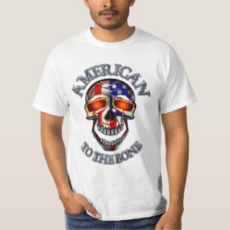 Americano 2 la camiseta del hueso