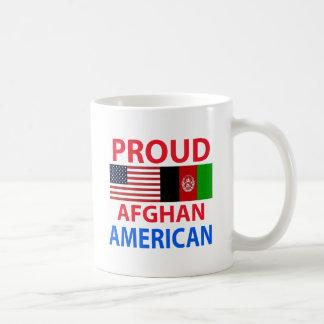 Americano afgano orgulloso taza de café