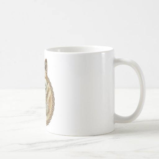 Americano Akita 001 Tazas De Café