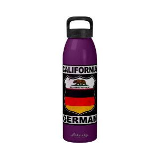 Americano alemán de California Botella De Beber