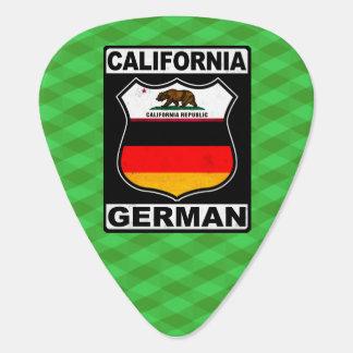 Americano alemán de California Púa De Guitarra