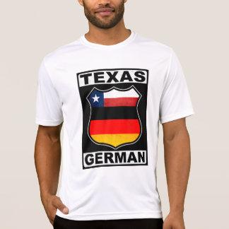 Americano alemán de Tejas Camisetas