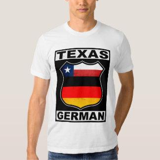 Americano alemán de Tejas Playera