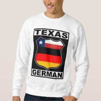 Americano alemán de Tejas Sudaderas Encapuchadas