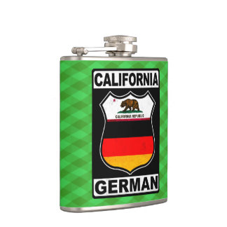 Americano alemán Hipflask de California